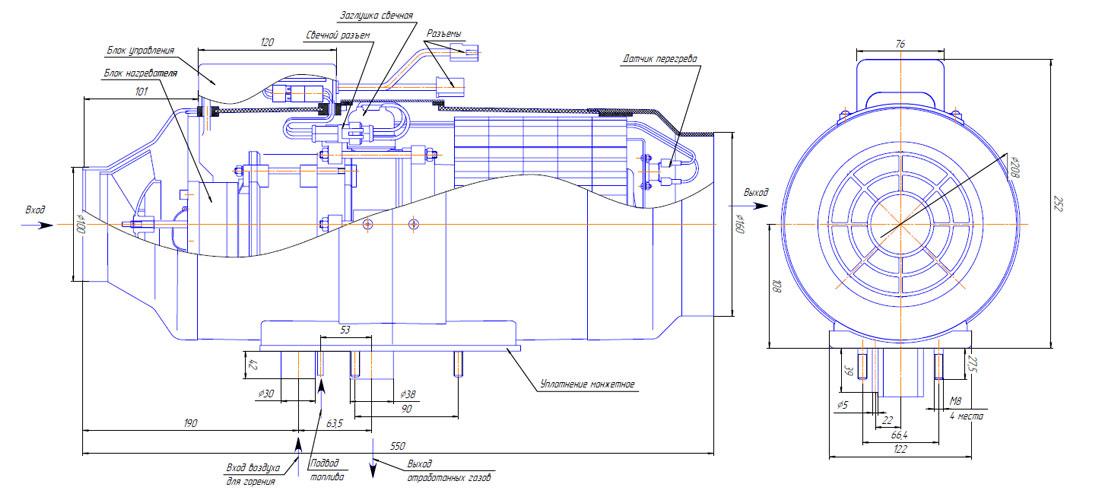 ремонт автономных отопителей